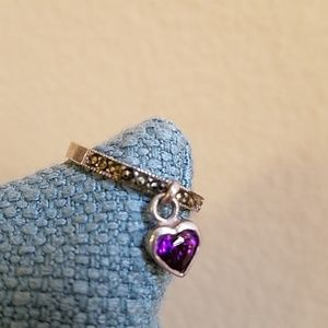 VINTAGE *Sterling Sweetie*  with Purple Heart this